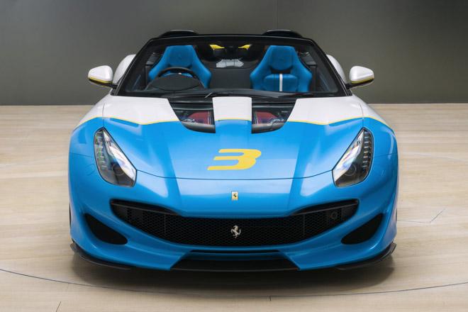 """Ferrari giới thiệu siêu xe """"có một không hai"""" SPCJ3 - 4"""