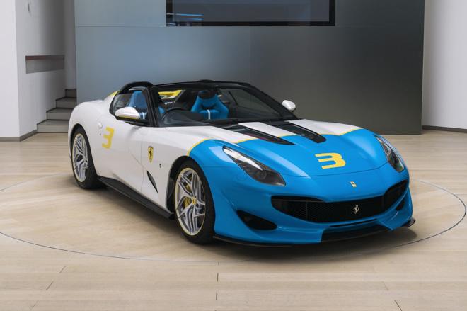 """Ferrari giới thiệu siêu xe """"có một không hai"""" SPCJ3 - 6"""