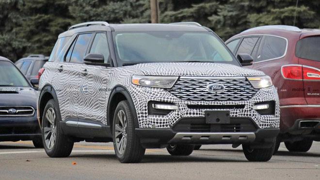 Ford Explorer 2020 lộ ảnh chạy thử tại Mỹ - 7