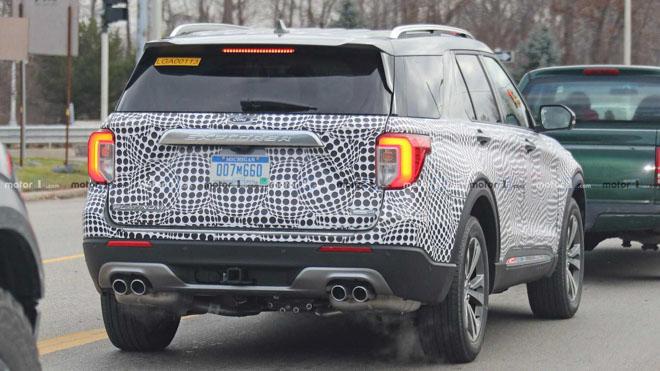 Ford Explorer 2020 lộ ảnh chạy thử tại Mỹ - 6