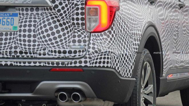 Ford Explorer 2020 lộ ảnh chạy thử tại Mỹ - 9