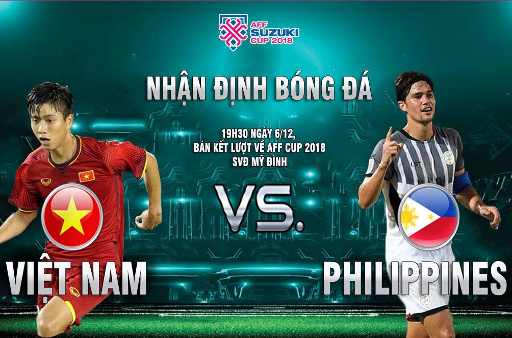 Việt Nam - Philippines: Hừng hực khí thế, vé chung kết trong tầm tay (AFF Cup) - 1