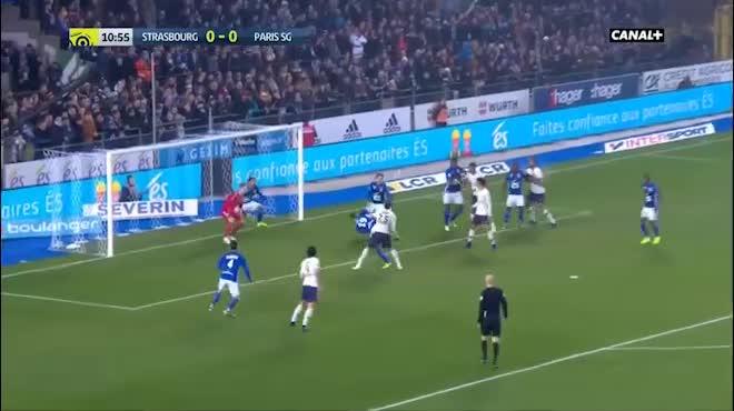 Highlight: Strasbourg vs PSG