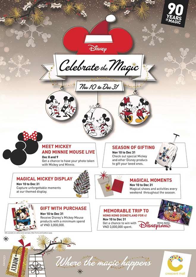Chào đón Giáng Sinh Nhiệm Màu cùng Mickey và Minnie tại Crescent Mall - 1