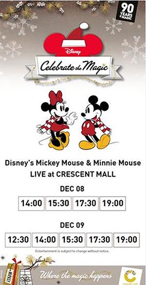 Chào đón Giáng Sinh Nhiệm Màu cùng Mickey và Minnie tại Crescent Mall - 2