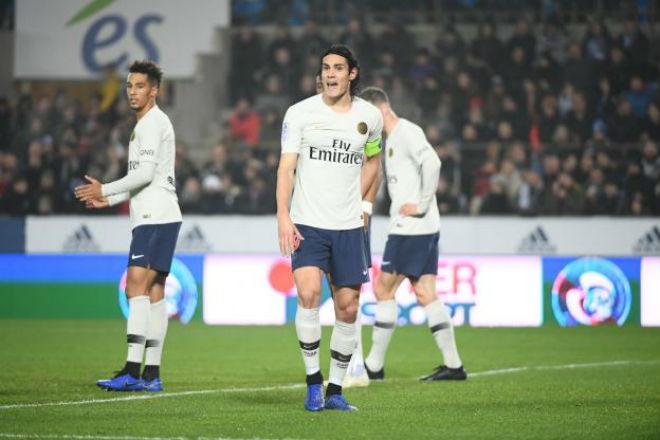 """Strasbourg - PSG: Neymar """"tàng hình"""", Cavani đá 11m định đoạt - 1"""