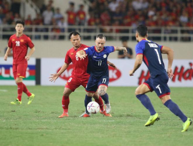 Việt Nam - Philippines: Bắn phá tưng bừng, cầu môn rung chuyển (Hiệp 1, AFF Cup) - 1