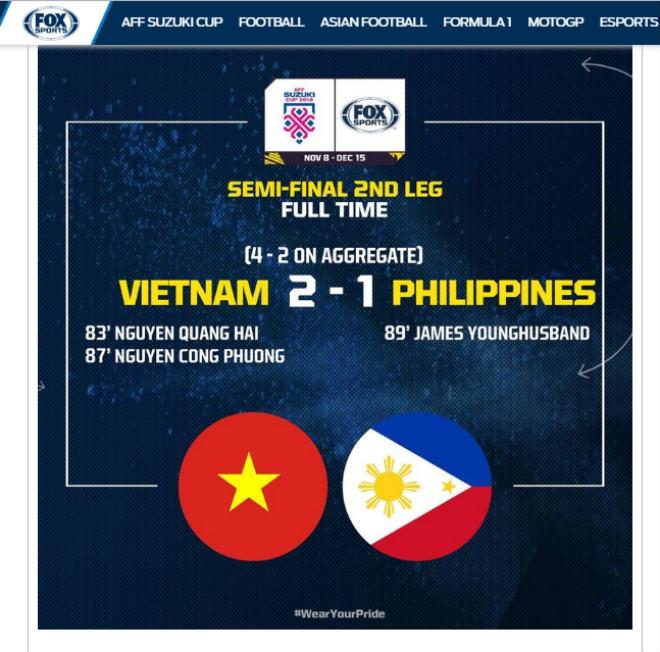 Việt Nam hạ Philippines vào chung kết AFF Cup: Báo châu Á sửng sốt chiến tích 10 năm - 1