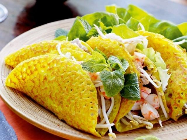 Bánh xèo, mít trộn - món ăn thực khách check-in ầm ầm ở Đà Nẵng