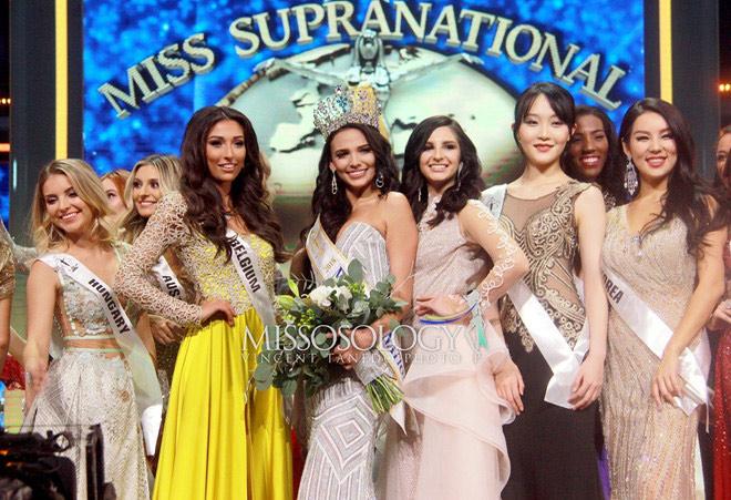 Tân Hoa hậu Siêu quốc gia sở hữu 3 vòng nóng bỏng 89-66-89 - 1
