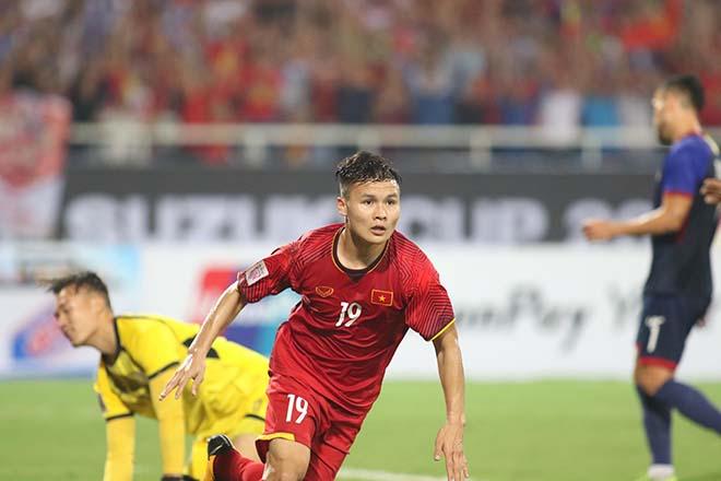 ĐT Việt Nam: Quang Hải, Công Phượng nguy cơ bị cấm đá lượt về với Malaysia - 1
