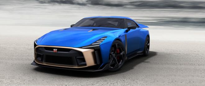 Phiên bản kỷ niệm Nissan GT-R50 được bán với giá 1,2 triệu USD - 1