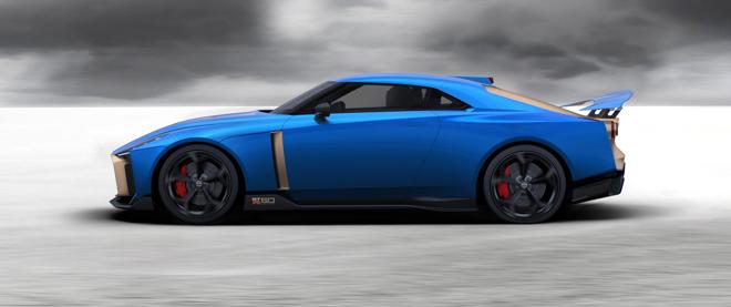 Phiên bản kỷ niệm Nissan GT-R50 được bán với giá 1,2 triệu USD - 2