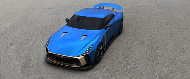 Phiên bản kỷ niệm Nissan GT-R50 được bán với giá 1,2 triệu USD - 3