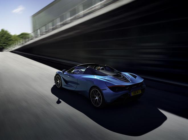 McLaren ra mắt siêu xe 720S phiên bản mui trần - 8