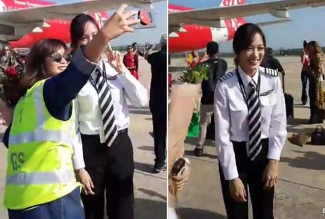 Gia thế nữ phi công đẹp nhất nhì Thái Lan từng lên ngôi hoa hậu - 1