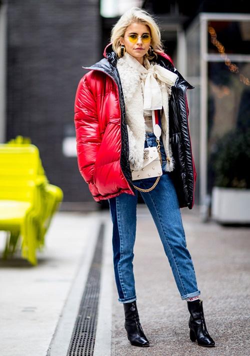 Nhẹ tênh lại ấm tuyệt đối, nhưng áo phao mặc thế nào cho đẹp? - 13