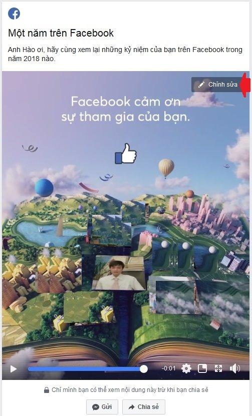 Hướng dẫn làm clip tổng kết 1 năm trên Facebook 2018 - 2