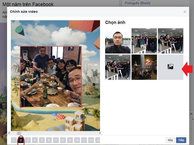 Hướng dẫn làm clip tổng kết 1 năm trên Facebook 2018 - 3