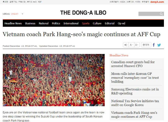 """Báo Hàn làm """"lộ bài"""" Park Hang Seo và ĐT Việt Nam lượt về đấu Malaysia - 2"""