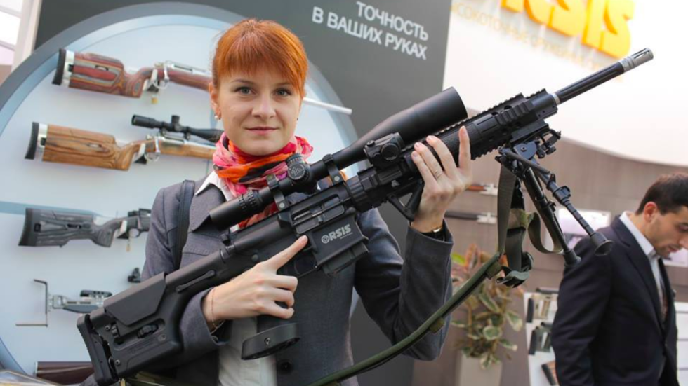 """Nữ điệp viên Nga dùng """"tình dục kế"""" tuyên bố sốc tại tòa án Mỹ - Tin tức 24h"""