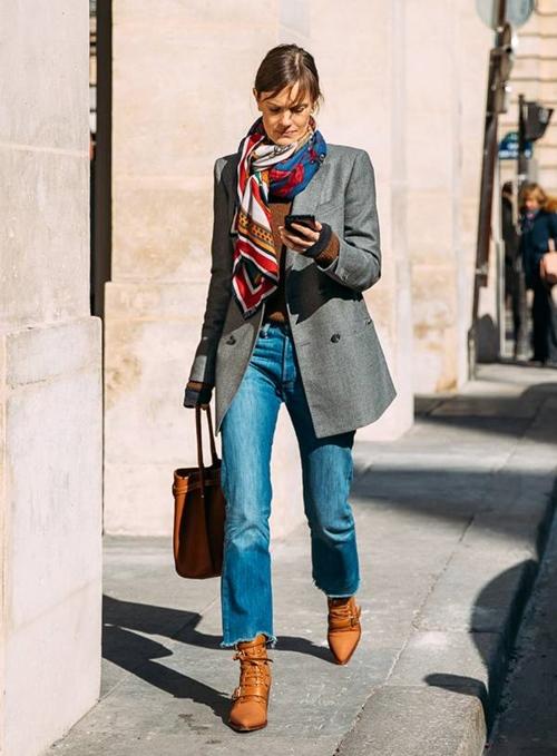 Quên kiểu quần jeans bó giò đi, đây mới là mốt jeans thống trị 2019 - 11