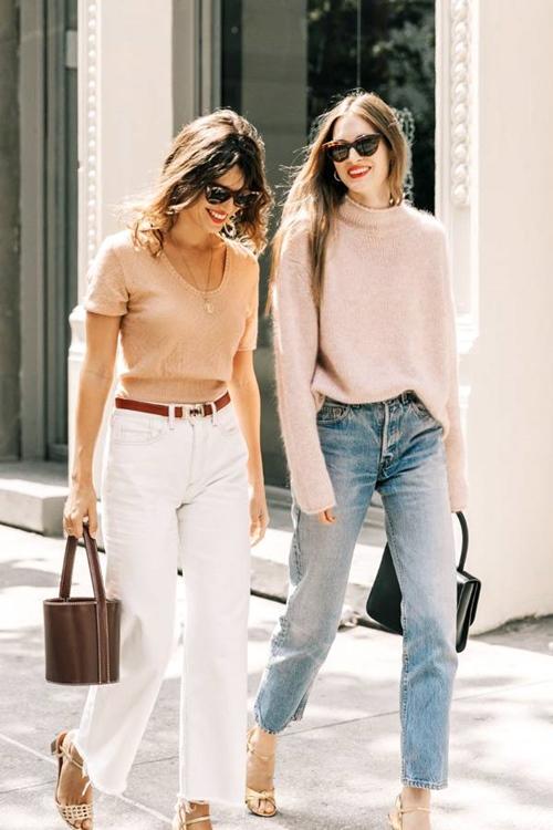 Quên kiểu quần jeans bó giò đi, đây mới là mốt jeans thống trị 2019 - 12