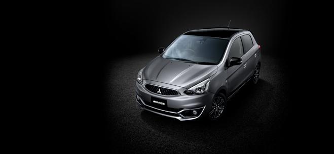Mitsubishi ra mắt phiên bản Mirage Black Edition - 1