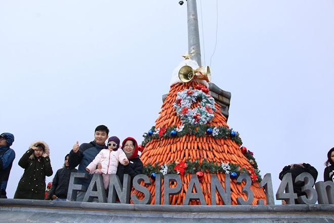 Những cây thông Noel đặc biệt… đang khiến du khách phát sốt với Lễ hội mùa đông Fansipan - 5