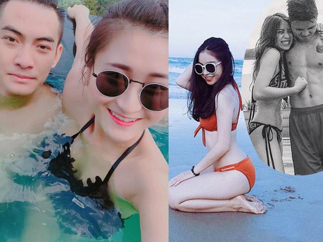 """Bạn gái Quang Hải, Huy Hùng, Phan Văn Đức siêu """"hot"""" với áo tắm"""