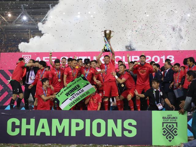Hình ảnh không thể nào quên trong ngày Việt Nam lên ngôi vô địch AFF Cup 2018 - 19