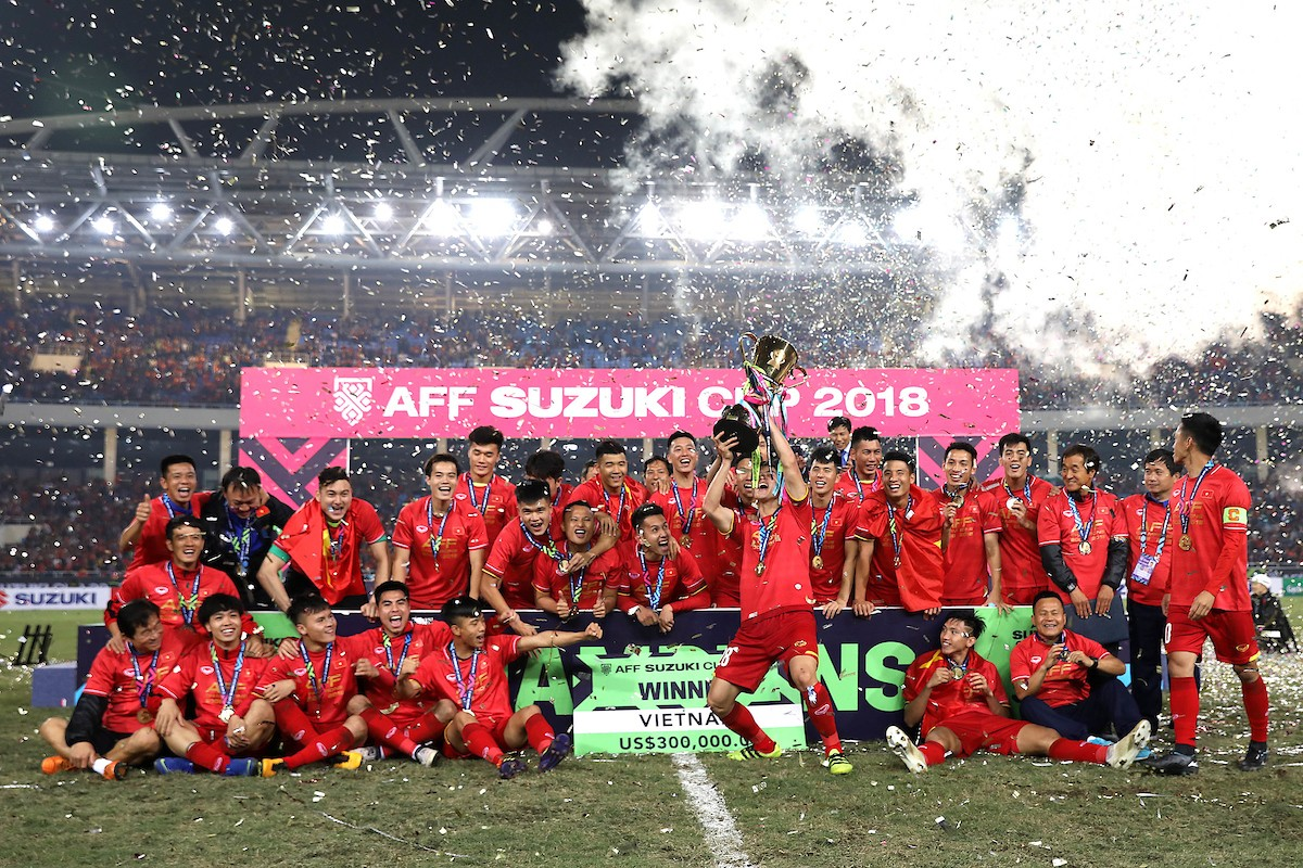 """Vô địch AFF Cup 2018, """"mưa"""" tiền thưởng dành cho đội tuyển Việt Nam - 1"""