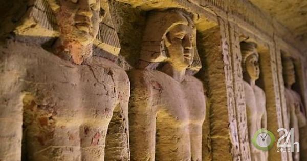 Phát hiện ngôi mộ cổ 4.400 tuổi có một không hai ở Ai Cập