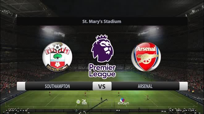 Highlight: Southampton vs Arsenal