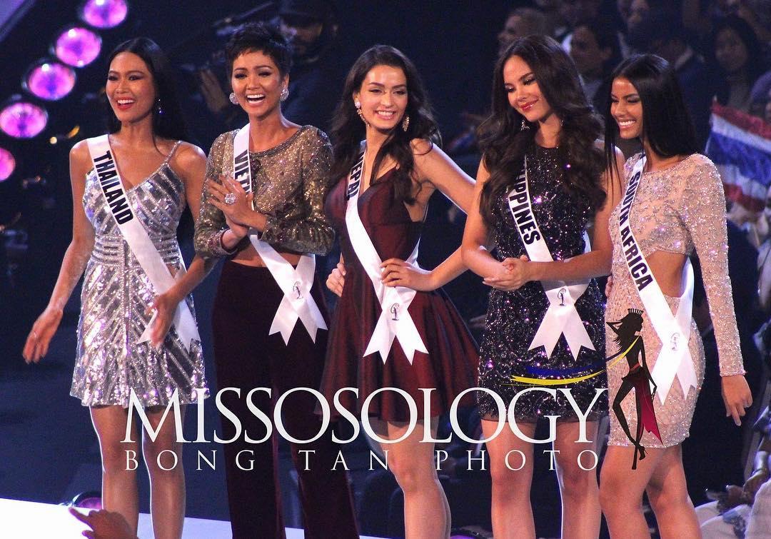 Lần đầu lịch sử Top 5 Hoa hậu Hoàn vũ 2018 gọi tên Việt Nam!