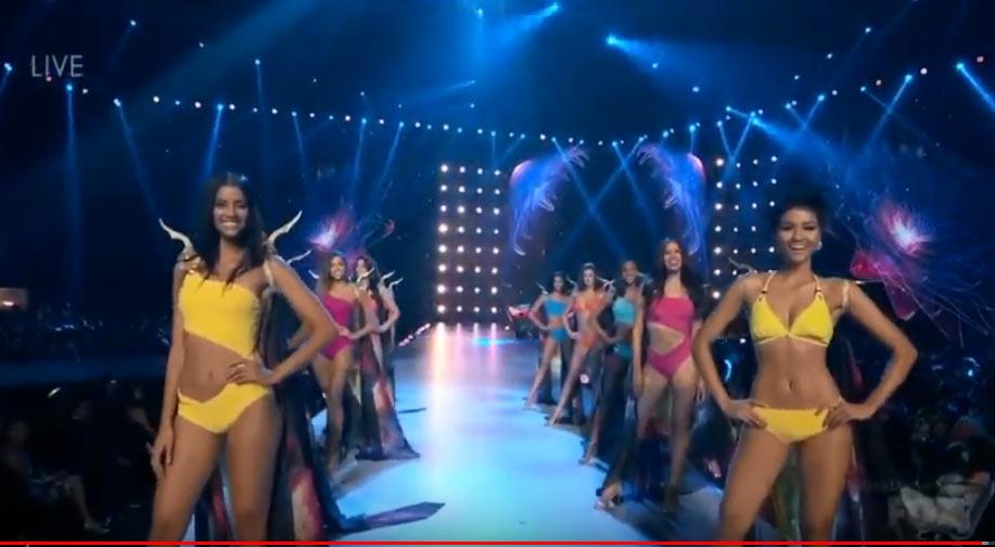 Cô gái Ê Đê H'Hen Niê diễn bikini trong Top 10 Hoa hậu Hoàn vũ 2018 - 1