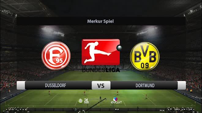 Highlight: Dusseldorf vs Dortmund