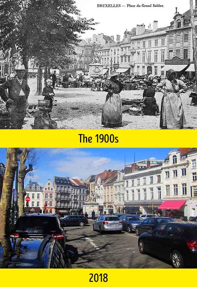 Nhìn những bức ảnh này mới thấy thế giới đã thay đổi quá nhiều suốt 100 năm qua - 2