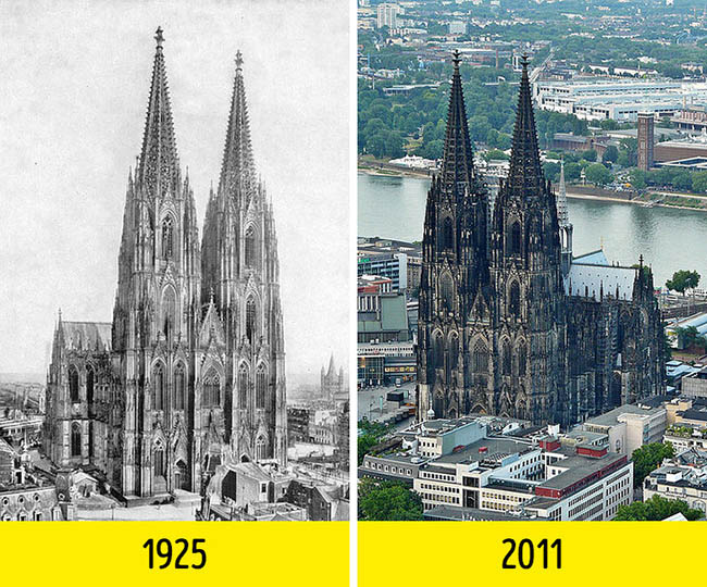 Nhìn những bức ảnh này mới thấy thế giới đã thay đổi quá nhiều suốt 100 năm qua - 6
