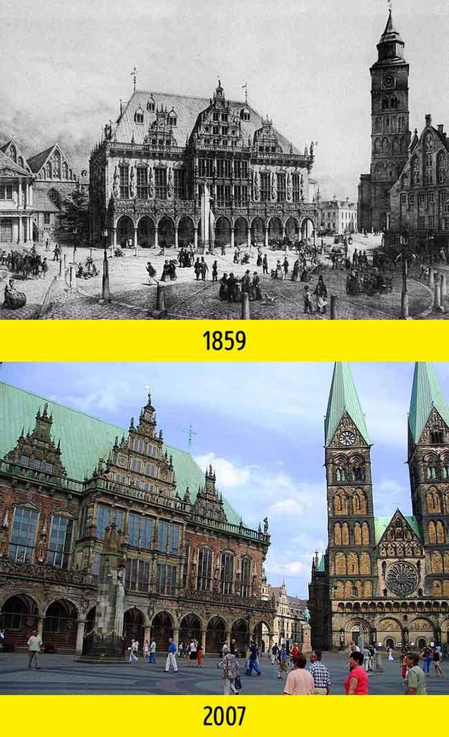 Nhìn những bức ảnh này mới thấy thế giới đã thay đổi quá nhiều suốt 100 năm qua - 8