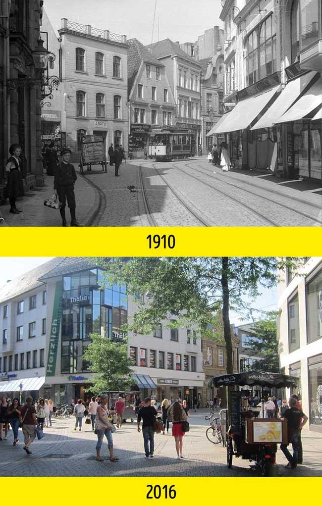Nhìn những bức ảnh này mới thấy thế giới đã thay đổi quá nhiều suốt 100 năm qua - 11