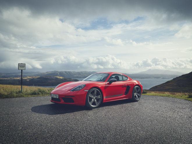 Porsche giới thiệu phiên bản thể thao giá rẻ 718T Cayman và 718T Boxster - 4