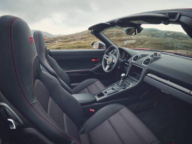 Porsche giới thiệu phiên bản thể thao giá rẻ 718T Cayman và 718T Boxster - 7