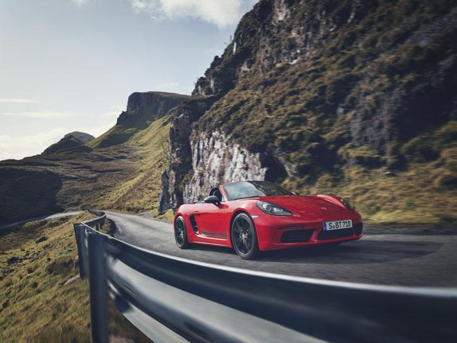 Porsche giới thiệu phiên bản thể thao giá rẻ 718T Cayman và 718T Boxster - 2