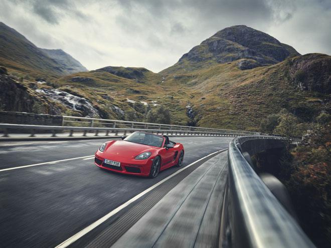 Porsche giới thiệu phiên bản thể thao giá rẻ 718T Cayman và 718T Boxster - 3