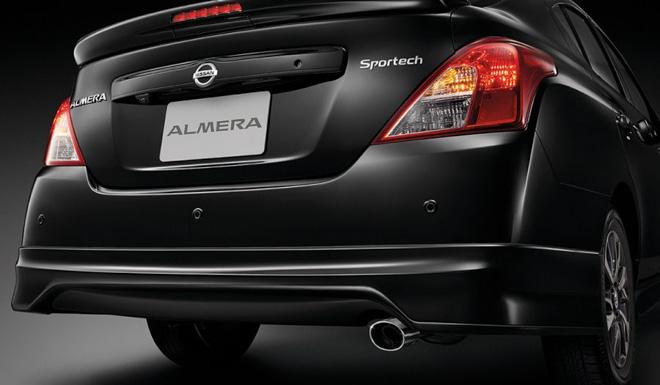 Nissan Sunny bổ sung thêm phiên bản thể thao Sportech - 3