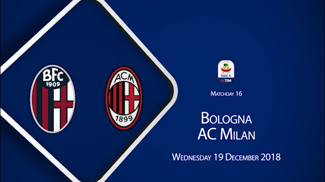 Highlight: Bologna vs AC Milan