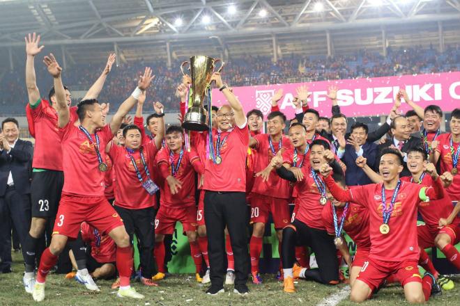 ĐT Việt Nam trên đỉnh AFF Cup: Quả ngọt từ chế độ dinh dưỡng khoa học của VPMilk - 1
