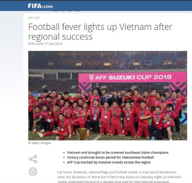 ĐT Việt Nam vô địch AFF Cup: FIFA sững sờ chờ bùng nổ Asian Cup - 1