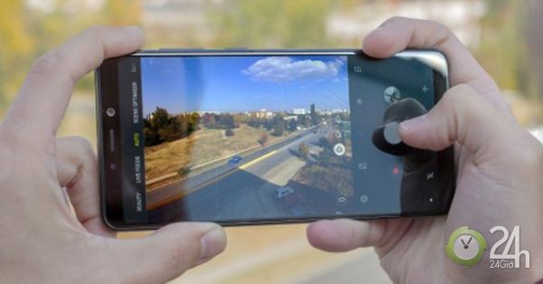 Galaxy A9 2018 với 4 camera khoe khả năng chụp đêm với smartphone